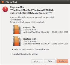 Clipboard Resume Interrupted Copy Ask Ubuntu