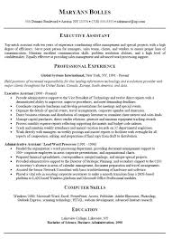 Resume For Administrative Position Gorgeous Administrative Assistant Job Description Resumes Vet Resume Best Of
