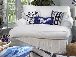 white coastal furniture. Classic-simply-styled-slipcovered-furniture-coastal-decor-coastal- White Coastal Furniture 1