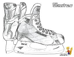 Small Picture Ice Hockey coloring pages of real hockey sticks You Can Print Out