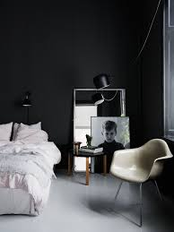 white room with black furniture. Room With Black Furniture. Furniture O White