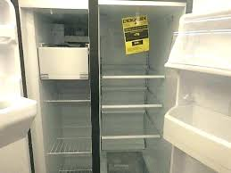 ge profile arctica refrigerator. Ge Arctica Profile Series Cu Ft Side By Sears Outlet Will Not Cool . Refrigerator