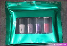 <b>MAC</b> Pink Mini Glitter & Pigments <b>Kit Holiday</b> 2018 Review ...