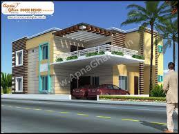 Modern 5 Bedroom House Designs 5 Bedroom Modern Duplex 2 Floor House Design Area 247m2 19m