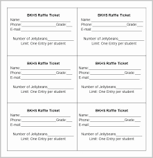 Avery Tickets Templates Ticket Templates 8 Per Page Elegant Avery Ticket Templates 8