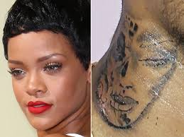 Is Chris Browns New Tattoo Supposed To Be A Battered Rihanna
