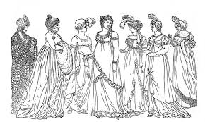 Small Picture Historical Fashion Coloring Pages Download And Print For Free