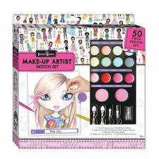 fashion angels make up artist sketch set