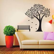 furniture bench modern bed font fall deciduous bench tree wall stickers pvc wall s