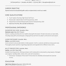 Employee Of The Month On Resume Golf Caddy Cover Letter And Resume Examples