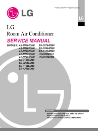lg split type air conditioner complete service manual air lg window ac thermostat setting at Lg Window Ac Wiring Diagram