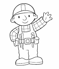 Small Picture Bob The Builder Coloring Pages Free Printable Coloring Pages