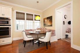 when and use corner bench your home kitchen designs round table banquette classic design dining room