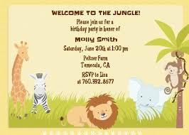 Safari Party Invitations Jungle Safari Party Birthday Party Invitations Candles And Favors