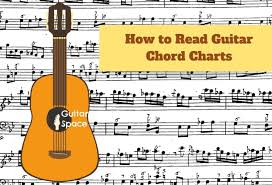 Bars are represented by a vertical line going through the staff. How To Read Guitar Chord Charts Guitar Space
