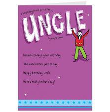 happy birthday uncle poems