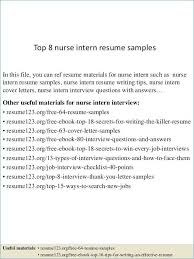 How To Write A Nursing Resume Adorable Examples Of Nursing Resumes Fresh Example Nursing Resume
