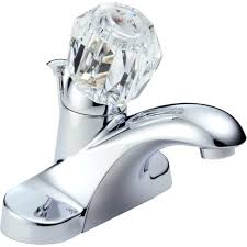 delta chrome foundations core b bathroom faucet with pop up drain assembly includes lifetime warranty bathtub