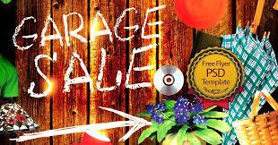 Garage Sale Flyers Free Templates Garage Sale Flyer Free Psd Flyer Template Free Download 11152