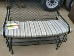 patio glider replacement cushions