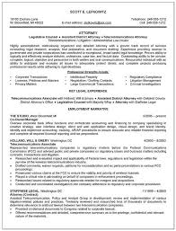 Attorney Resume Examples Sample Resumes For Lawyers Transactional