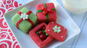 christmas present cookies. Interesting Christmas Crafty Holiday Cookies For Kids  FamilyFreshMealscom In Christmas Present M