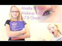 middle makeup tutorial 6th 7th 8th grade