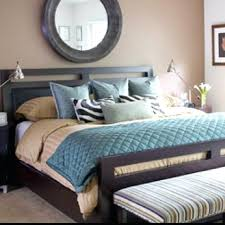 Brown Teal Bedroom Ideas