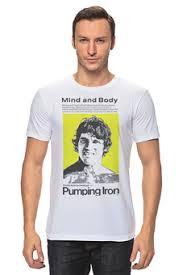 """Мужские <b>футболки</b> c качественными принтами """"pumping <b>iron</b> ..."""