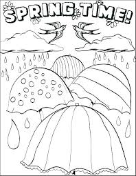 Spring Color Pages Oriental Trading Coloring Pages Spring Color For