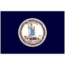 Indoor Virginia State Flag