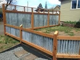 corrugated metal privacy fence. Modren Metal Corrugated Steel Fence Metal Privacy Inspiring  Post Art Google Inside Corrugated Metal Privacy Fence C