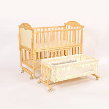 baby sleigh cot 3 in 1 nursery baby toddler bed cot crib wood furniture
