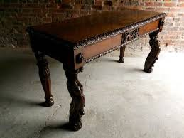 antique hall table. Antique Gothic Victorian Hall Table 2 Antique Hall Table B