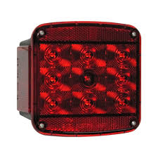 Peterson Lights Dealers Anderson Marine Division 840 Series Square Led Tail Light