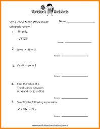 9 9th grade english worksheets math cover ninth practice worksheet prin 9th grade printable math worksheets