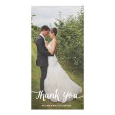 wedding thank you photocards Wedding Thank You Bunting Uk lettered overlay wedding thank you photo card Succulent Thank You Bunting