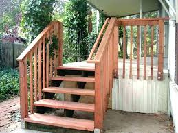 prefab wooden steps outdoor modular deck stairs outdoor wood steps prefab exterior architecture iron outside stair