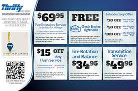 Auto Repair Flyer Thrifty Car Sales Auto Repair Service Flyer Design Print
