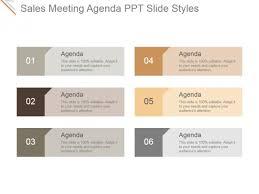 Sales Meeting Agenda Sales Meeting Agenda Ppt Powerpoint Presentation Summary