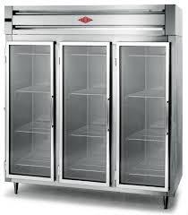 75 glass door standard depth chromatography refrigerator