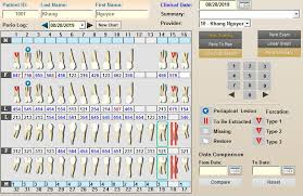 Dental And Periodontal Charting Periodontal Charting Eprosystem