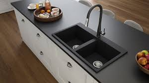 Double Bowl Drop In Granite Sink Elle 200t Lavello Sinks