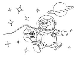 Small Picture OSO astronaut coloring pages for kids printable free Special