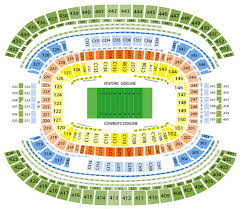 Texas Stadium Seat Online Charts Collection