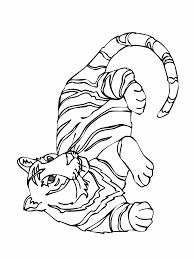 Coloriage Guepard Tigre Et Lion Dans La Jungle Dessin A Imprimer