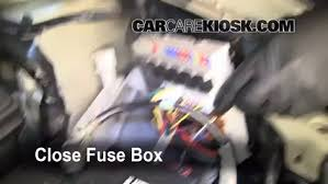 blown fuse check 2007 2012 nissan versa 2008 nissan versa s 1 8l 6 replace cover secure the cover and test component