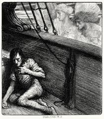 william strang death and life in death from ldquo the rime of the the other was a softer voice herbert cole from the rime of the ancient mariner by samuel taylor coleridge boston source