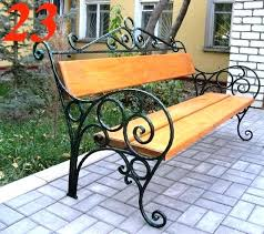 wrought iron bench seat bench design wrought iron bench seat wrought iron bench with wooden slats
