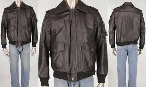 details about vintage wilsons heavy military er flight aviation motorcycle leather jacket